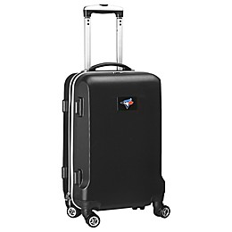 MLB Tampa Bay Rays 20-Inch Hardside Carry On Spinner in Black