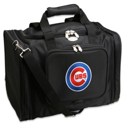 Mlb Chicago Cubs 22 Inch Drop Bottom Rolling Duffle Bag