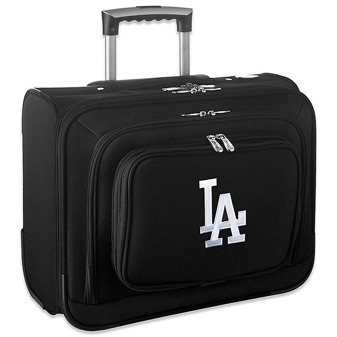 Alternate image 1 for MLB Los Angeles Dodgers 14-Inch Laptop Overnighter