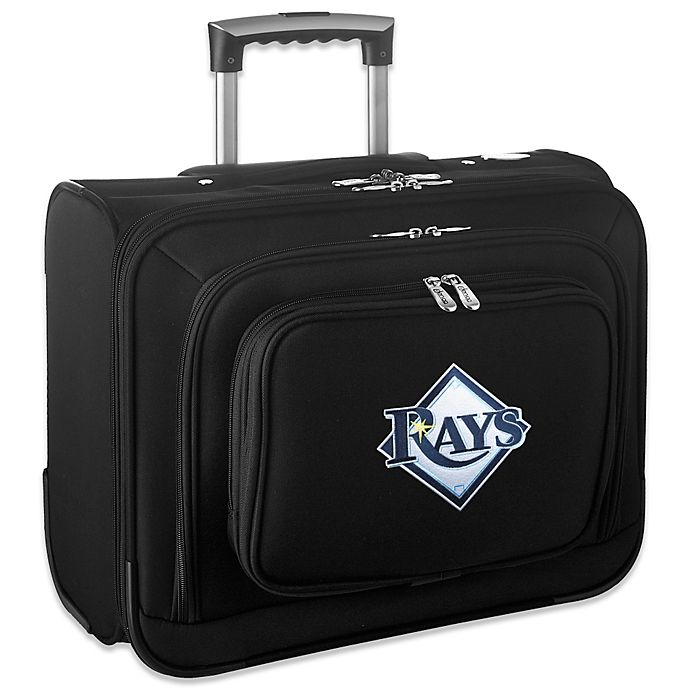 Alternate image 1 for MLB Tampa Bay Devil Rays 14-Inch Laptop Overnighter