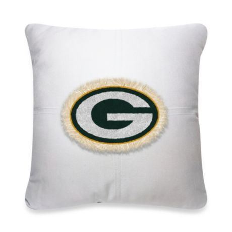 Nfl Green Bay Packers 18 Inch Letterman Throw Pillow Bed