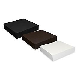 Way Basics 10-Inch zBoard paperboard Floating Wall Shelf