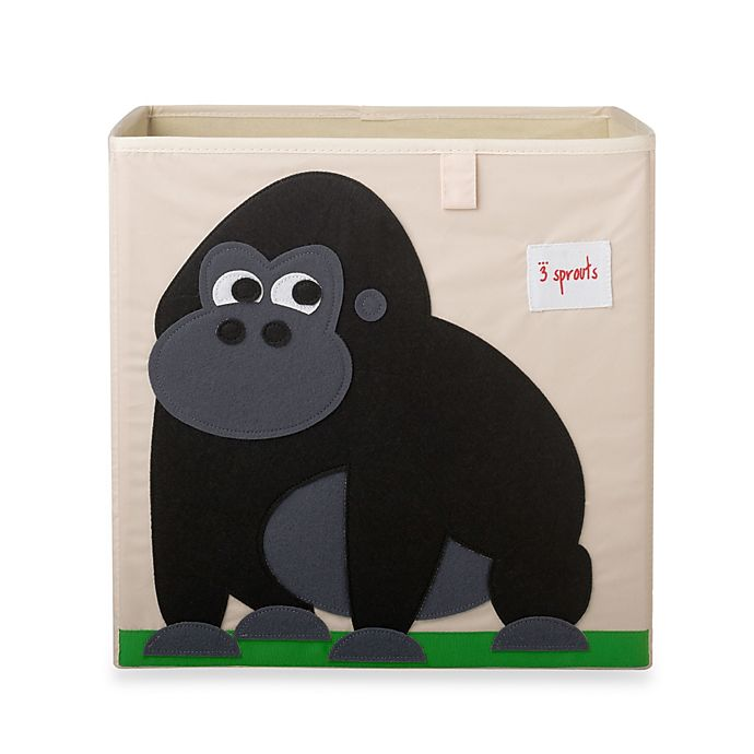 Alternate image 1 for 3 Sprouts Gorilla Storage Box
