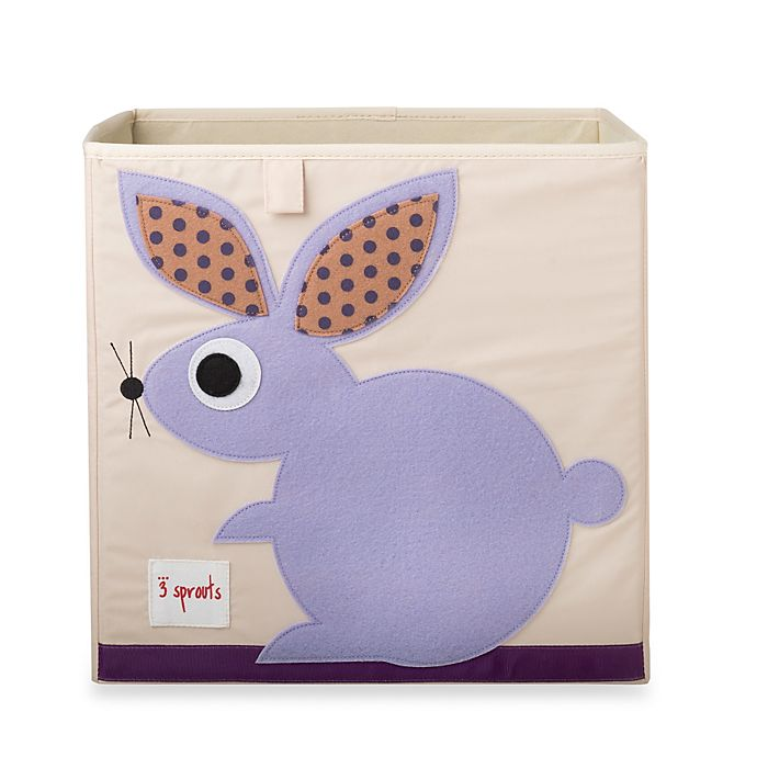 Alternate image 1 for 3 Sprouts Rabbit Storage Box