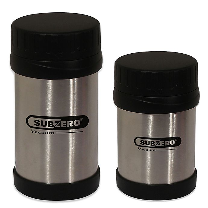 Alternate image 1 for Stainless Steel Food Jar with Screw Top