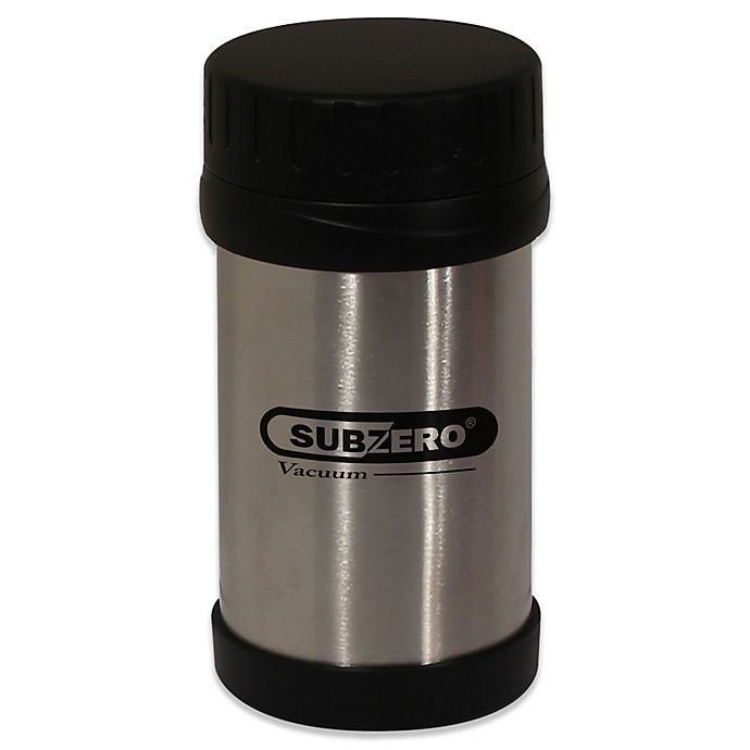 Alternate image 1 for Stainless Steel 12 oz. Food Jar with Screw Top