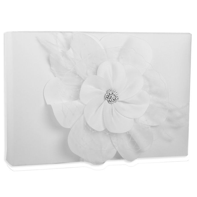 Alternate image 1 for Ivy Lane Design Somerset Guest Book in White