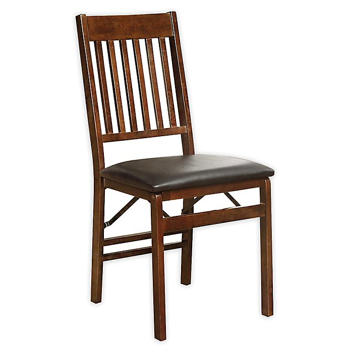 Alternate image 1 for Mission Back Wood Folding Chair