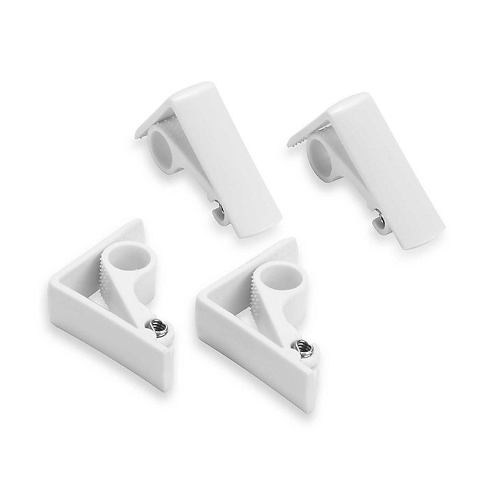 Alternate image 1 for Spring Loaded Adjustable Tablecloth Clamps (Set of 4)