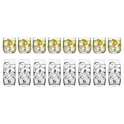 Bormioli Rocco Dailyware Loto Glasses (Set of 16)