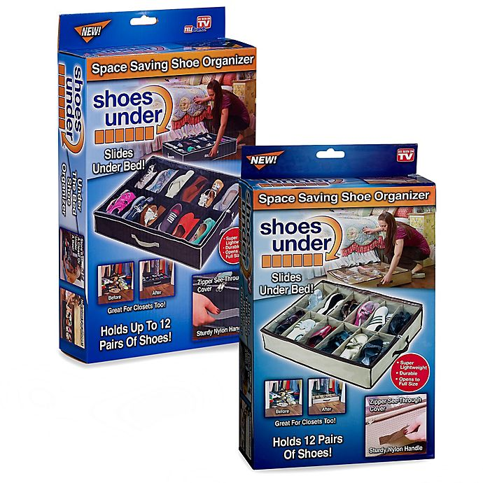 Alternate image 1 for Shoes Under™ Shoe Storage Organizer