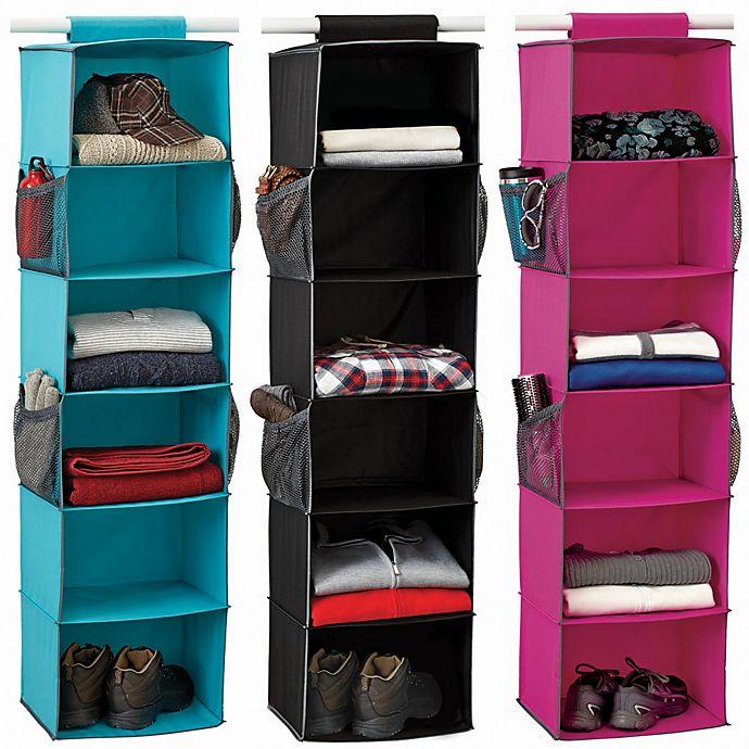 Alternate image 1 for Studio 3B™ 6-Shelf Sweater Organizer
