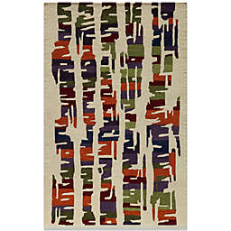 Momeni 3-Foot 6-Inch x 5-Foot 6-Inch Delhi DL-42 Rug in Multicolor