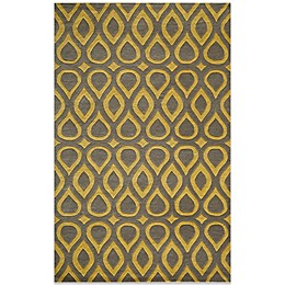 Momeni Delhi Wool Rug in Grey