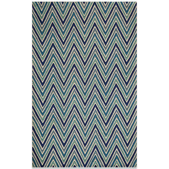 Alternate image 1 for Momeni Delhi 8-Foot x 10-Foot Wool Rug in Blue