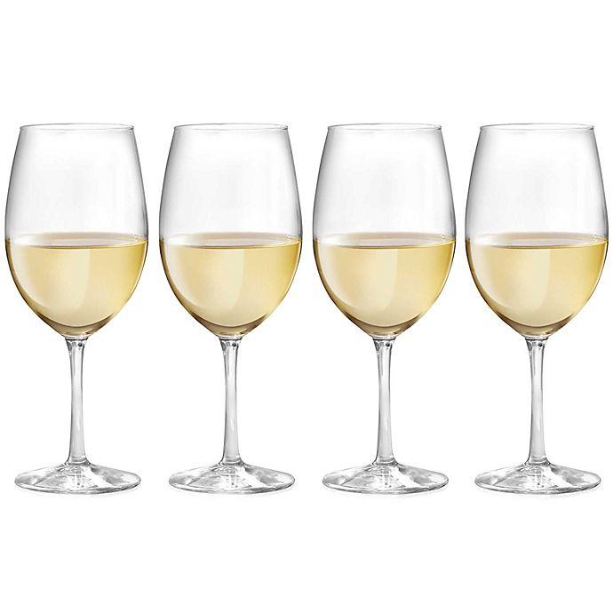 Alternate image 1 for Dailyware™ White Wine Glasses (Set of 4)
