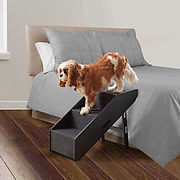 Pawslife® Deluxe Collapsible Pet Step/Ramp in Black