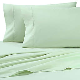 Heartland® HomeGrown™ 325-Tread-Count Cotton Percale Standard Pillowcase in Light Green