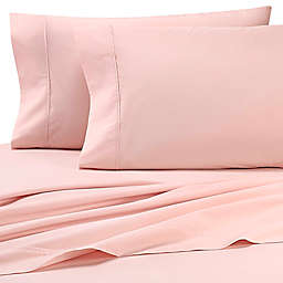 Heartland® HomeGrown™ 325-Thread-Count Cotton Percale Full Flat Sheet in Pink