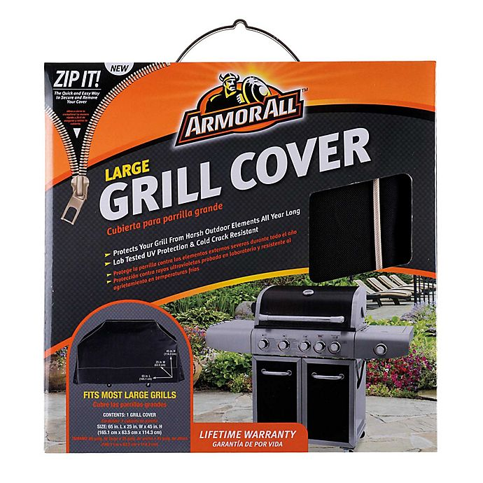 Alternate image 1 for Armor All® Grill Cover in Black