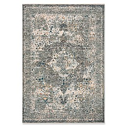 Bee & Willow™ Home Laurel Medallion Area Rug in Beige/Grey