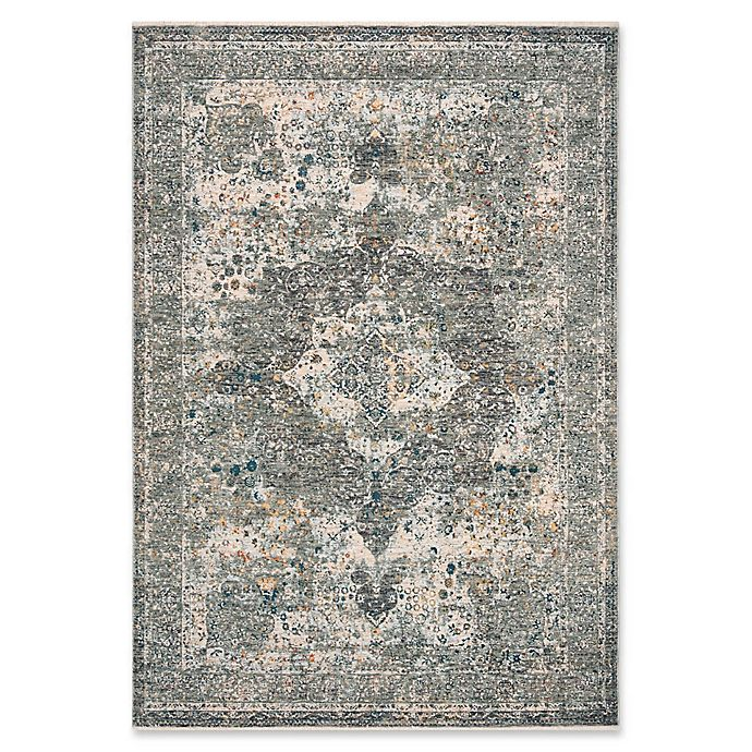 Alternate image 1 for Bee & Willow™ Home Laurel Medallion Area Rug in Beige/Grey