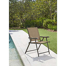 Never Rust Outdoor Aluminum Folding Sling Chair