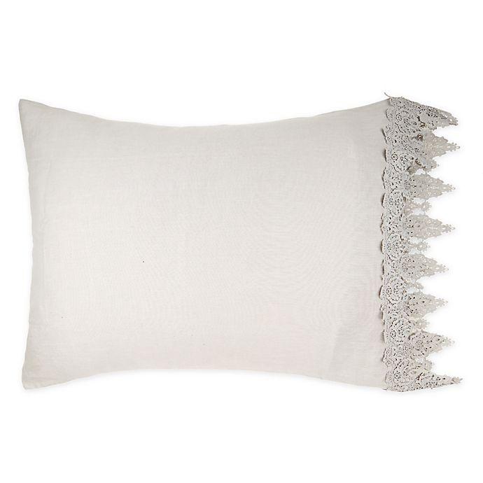 Alternate image 1 for Wamsutta™ Vintage Evelyn Lace Pillow Sham
