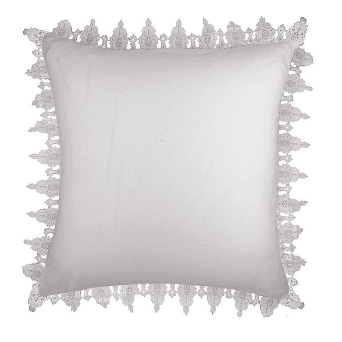 Alternate image 1 for Wamsutta™ Vintage Evelyn Lace European Pillow Sham