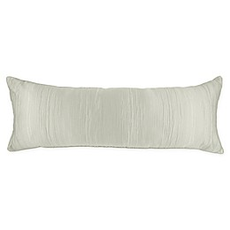 Wamsutta® Collection Castella Jacquard Oblong Throw Pillow in Silver