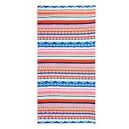 Destination Summer Geo Stripes Beach Towel