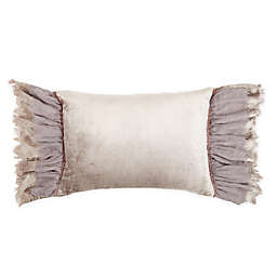 Wamsutta® Vintage Solonge Oblong Throw Pillow in Grey