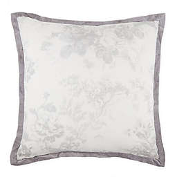 Wamsutta® Vintage Mercia Square Throw Pillow in Light Grey