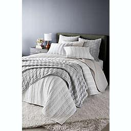O&O by Olivia & Oliver™ Hash Tag European Pillow Sham in Grey