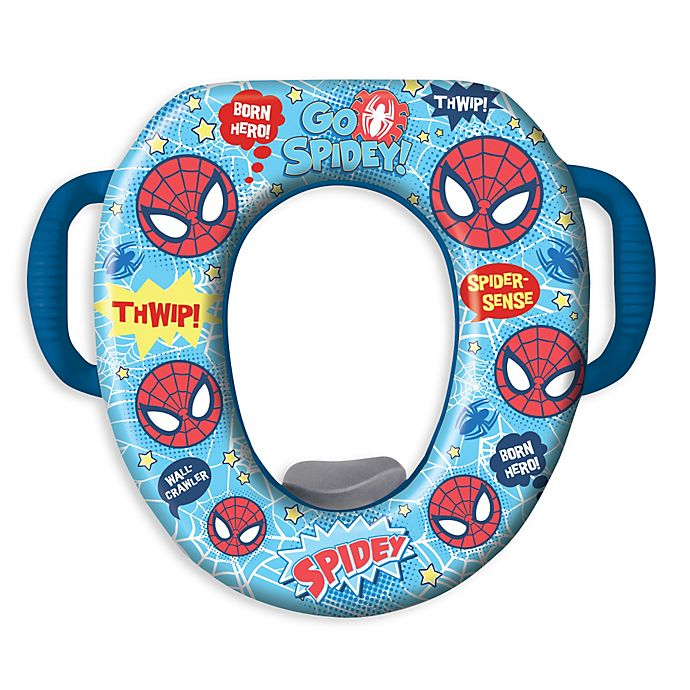 Alternate image 1 for Ginsey Ultimate Spiderman Soft Cushioned Potty Seat