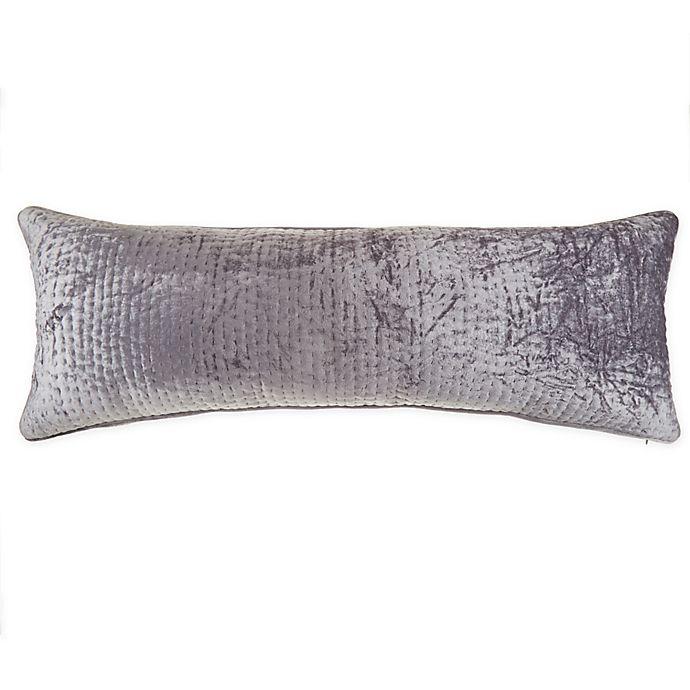 Alternate image 1 for Wamsutta® Collection Velvet Lumbar Throw Pillow