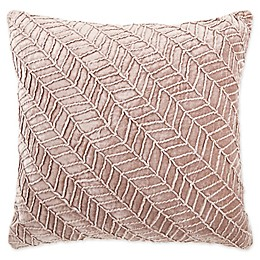 O&O by Olivia & Oliver™ Soriano Herringbone Square Throw Pillow in Lilac