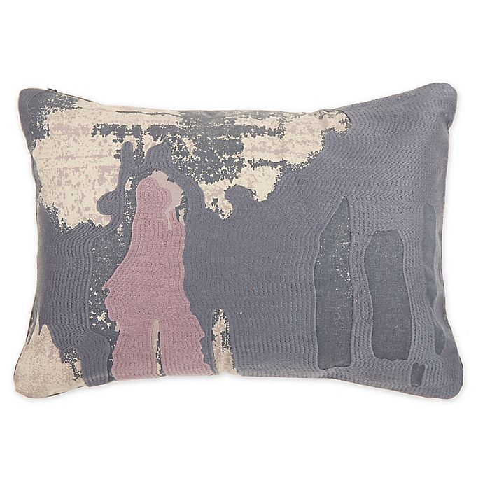 Alternate image 1 for O&O by Olivia & Oliver™ Renato Oblong Throw Pillow in Dark Grey