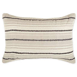 O&O by Olivia & Oliver™ Varesina Striped Oblong Throw Pillow in Natural