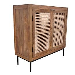 Global Caravan™ Juna 2-Door Console Table in Natural