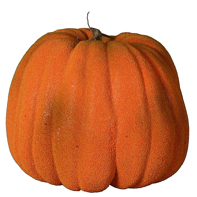 Alternate image 1 for Harvest 20-Inch Classic Polyfoam Pumpkin in Orange