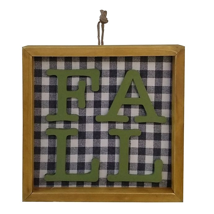 Alternate image 1 for Bee & Willow™ Home 8-Inch Fall Tabletop Sign in Green