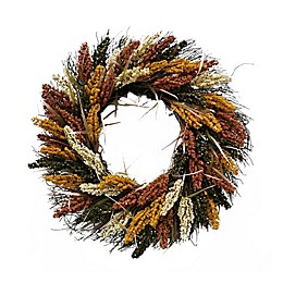 Bee & Willow™ Home Harvest 22-Inch Faux Heather Wreath