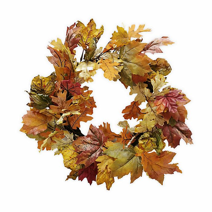 Alternate image 1 for Bee & Willow™ Home Harvest 22-Inch Seasonal Wreath (Set of 3)