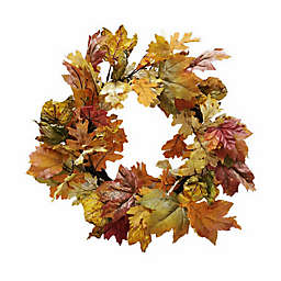 Bee & Willow™ Home Harvest 22-Inch Seasonal Wreath (Set of 3)