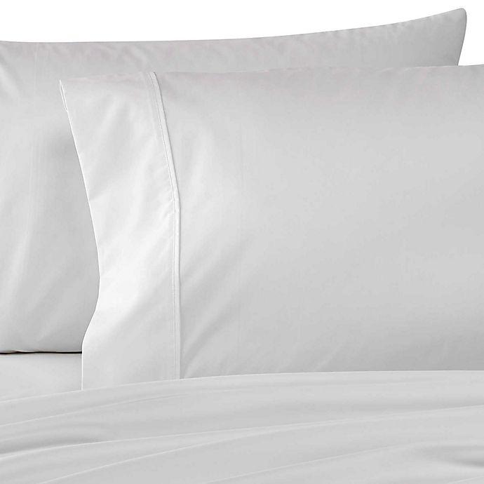 Alternate image 1 for Wamsutta® Dream Zone® 500-Thread-Count PimaCott® Standard Pillowcases in White