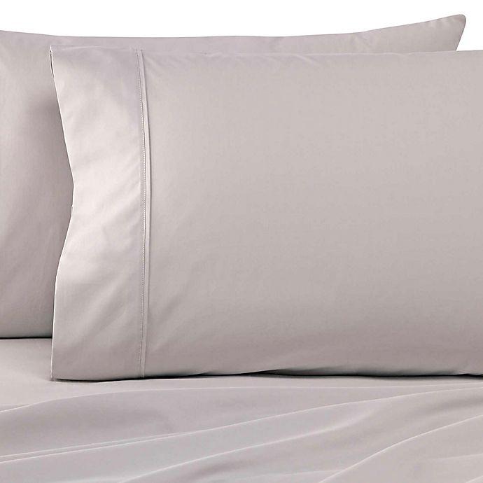 Alternate image 1 for Wamsutta® Dream Zone® 500-Thread-Count PimaCott® King Sheet Set in Silver