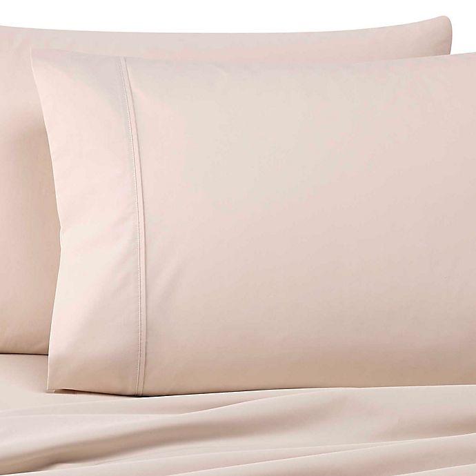 Alternate image 1 for Wamsutta® Dream Zone® 500-Thread-Count PimaCott® Standard Pillowcases in Stone