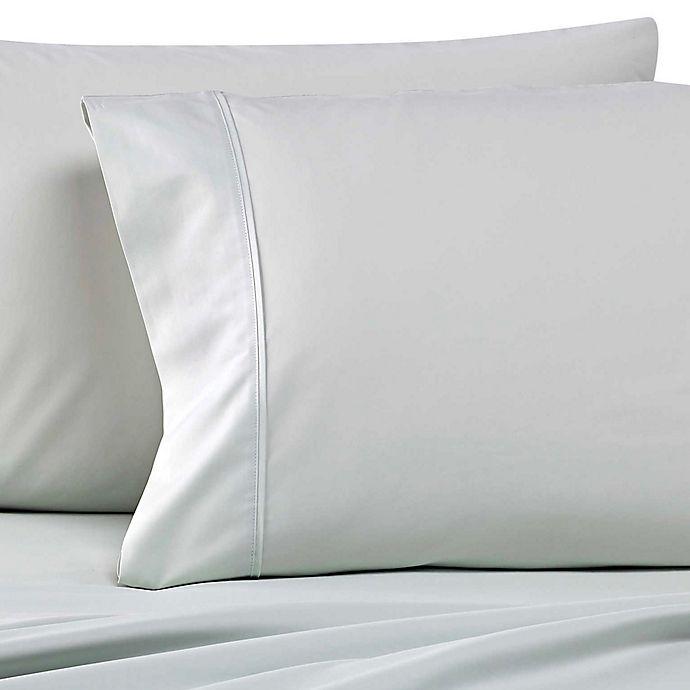 Alternate image 1 for Wamsutta® Dream Zone® 500-Thread-Count PimaCott® Standard Pillowcases in Mint (Set of 2)
