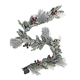 Winter Wonderland 108-Inch Pre-Lit Christmas Garland